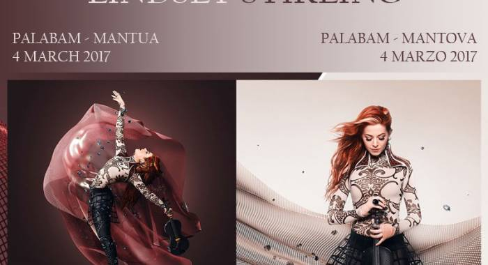 Lindsey Stirling's concert at the Palabam in Mantua: the Italian stage in spring