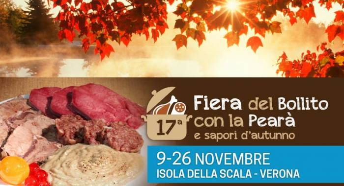 "Fair of ""boiled meat and pearà"" 2017 in Isola della Scala"