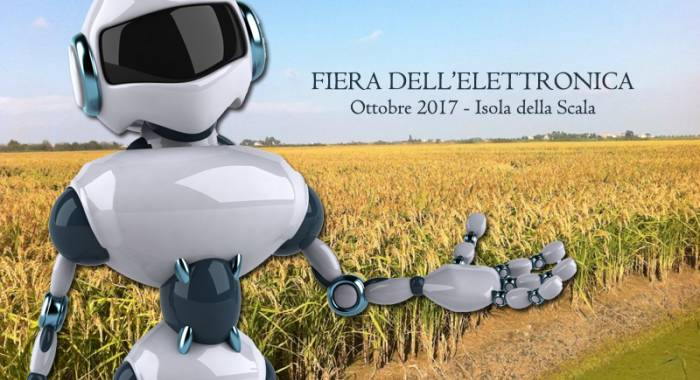 The electronics exhibition in Isola della Scala in Octobre 2017, the autumn edition
