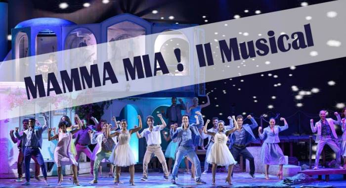 Mamma Mia Musical Mantua on January 2018, 16th and 17th