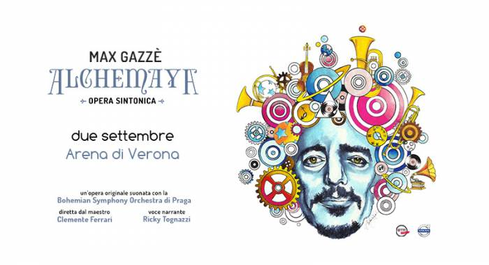 Max Gazzé in concerta in Arena Verona in September 2018: country relais b&b for after concert