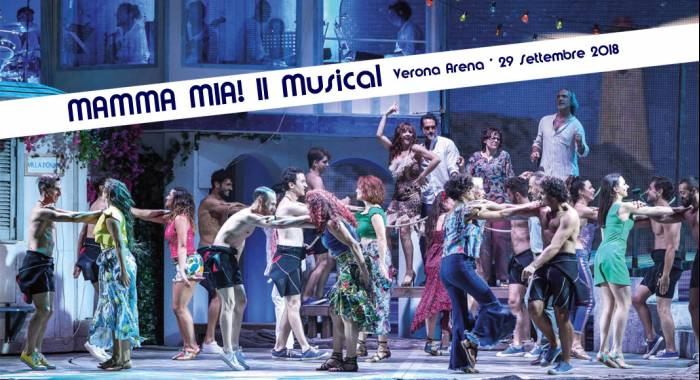 Mamma Mia Musical Arena 2018: B&B in Verona for the event in autumn