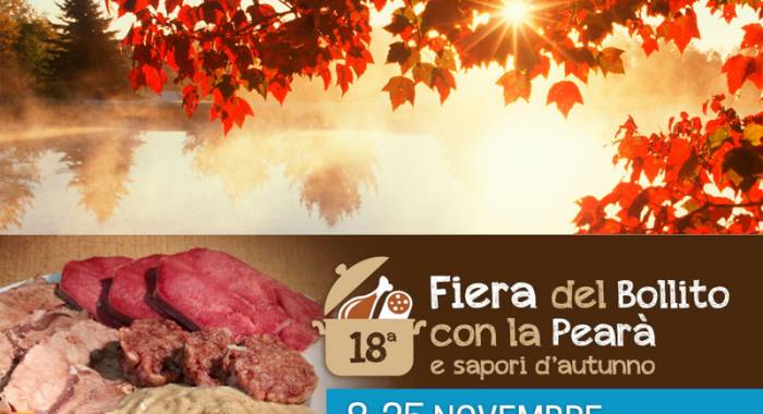 "Fair of ""boiled meat and pearà"" 2018 in Isola della Scala"
