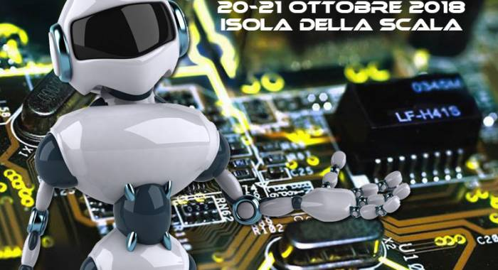 The electronics exhibition in Isola della Scala in Octobre 2018, the autumn edition