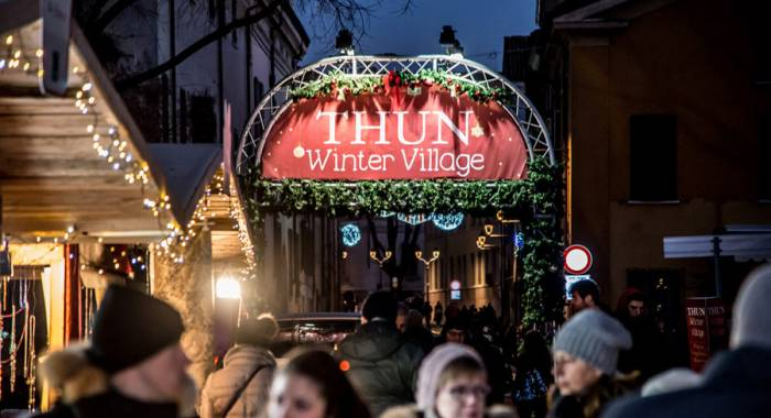 The Thun Winter Village in Mantua