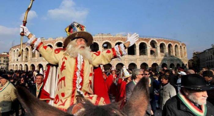 "Carnival in Verona 2019: from the election of the ""Papa del Gnocco"" to the Mardi Gras"