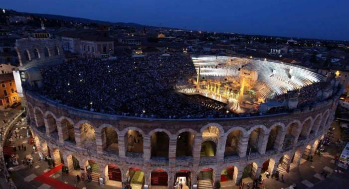 Il relais a Verona per il programma del Festival Lirico Arena 2017