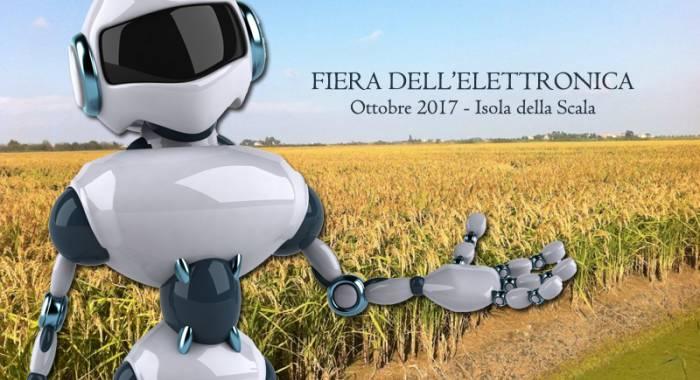Fiera dell'elettronica ad Isola della Scala ad ottobre 2017, l'edizione autunnale