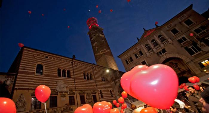 Idea regalo per San Valentino 2018 a Verona: la notte in una location romantica