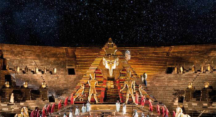 Aida opera lirica in Arena di Verona estate 2018