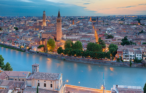 Verona and surroundings
