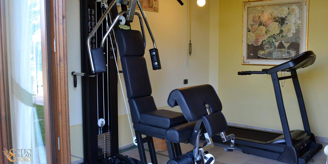 Hotel with gym in Verona for business trips