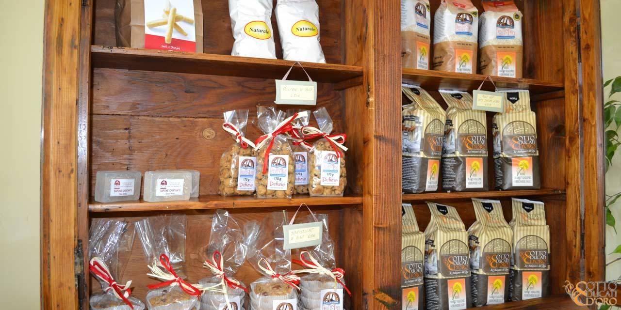 Vendita di prodotti locali al Relais per uomini d'affari a Verona