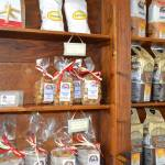 Local products on sale at the hotel for business people in Verona