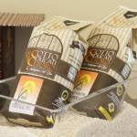 Sale of locally-sourced rice of the Otto Ducati d'Oro country relais