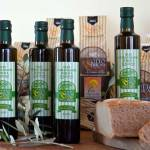Here is the extra vergin olive oil produced by Otto Ducati d'Oro, from Cecina hills in Tuscany,