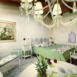 Gelosia: stanza al primo piano con bagno in camera