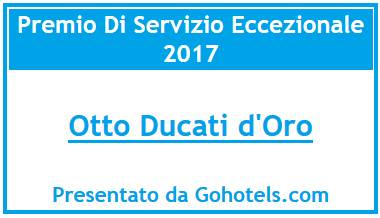Gohotels.com rewards Otto Ducati d'Oro for exceptional service